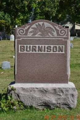 BURNISON, FAMILY - Branch County, Michigan | FAMILY BURNISON - Michigan Gravestone Photos