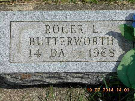 BUTTERWORTH, ROGER L. - Branch County, Michigan | ROGER L. BUTTERWORTH - Michigan Gravestone Photos