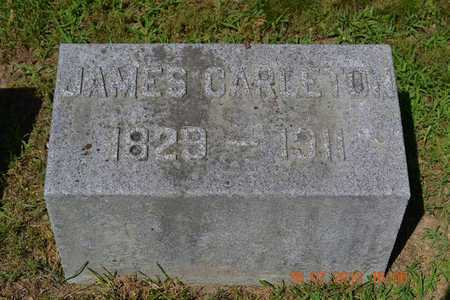 CARLETON, JAMES - Branch County, Michigan | JAMES CARLETON - Michigan Gravestone Photos