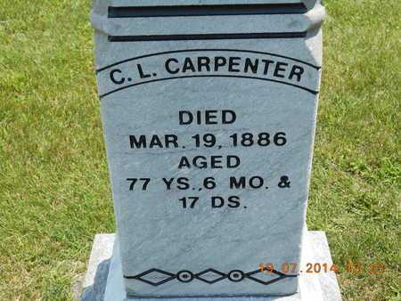 CARPENTER, C.L. - Branch County, Michigan | C.L. CARPENTER - Michigan Gravestone Photos