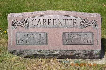 CARPENTER, MARY F. - Branch County, Michigan | MARY F. CARPENTER - Michigan Gravestone Photos