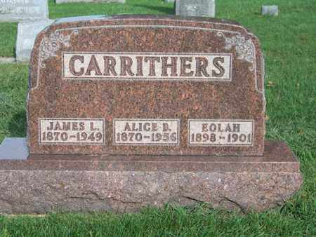 CARRITHERS, EOLAH - Branch County, Michigan | EOLAH CARRITHERS - Michigan Gravestone Photos