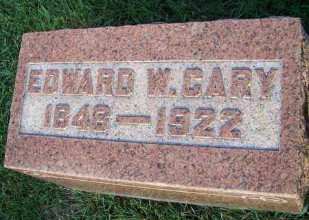 CARY, EDWARD - Branch County, Michigan | EDWARD CARY - Michigan Gravestone Photos
