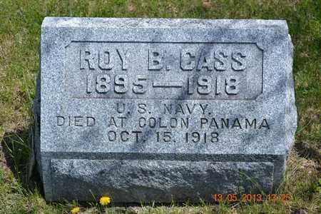 CASS, ROY B.(HEADSTONE) - Branch County, Michigan | ROY B.(HEADSTONE) CASS - Michigan Gravestone Photos