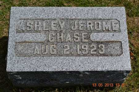 CHASE, ASHLEY JEROME - Branch County, Michigan | ASHLEY JEROME CHASE - Michigan Gravestone Photos
