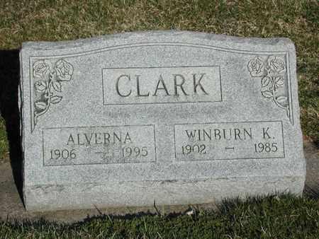 CLARK, ALVERNA - Branch County, Michigan | ALVERNA CLARK - Michigan Gravestone Photos