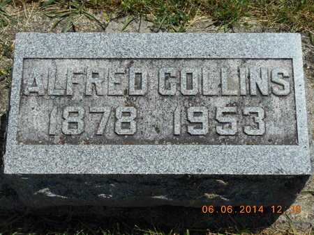COLLINS, ALFRED - Branch County, Michigan | ALFRED COLLINS - Michigan Gravestone Photos