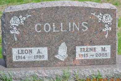 COLLINS, LEON A. - Branch County, Michigan | LEON A. COLLINS - Michigan Gravestone Photos