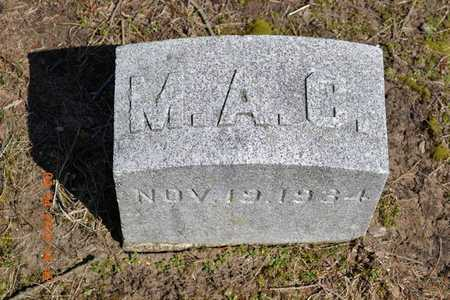 COLLINS, M.A. - Branch County, Michigan | M.A. COLLINS - Michigan Gravestone Photos