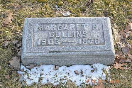 COLLINS, MARGARET H. - Branch County, Michigan | MARGARET H. COLLINS - Michigan Gravestone Photos