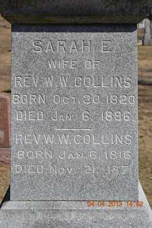 COLLINS, REVEREND W.W. - Branch County, Michigan | REVEREND W.W. COLLINS - Michigan Gravestone Photos