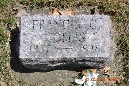 COMBS, FRANCIS C. - Branch County, Michigan   FRANCIS C. COMBS - Michigan Gravestone Photos