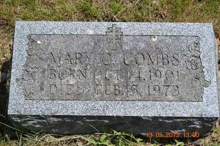 COMBS, MARY O. - Branch County, Michigan | MARY O. COMBS - Michigan Gravestone Photos
