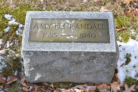 CRANDALL, AMY H. - Branch County, Michigan | AMY H. CRANDALL - Michigan Gravestone Photos