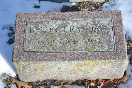 CRANDALL, BYRON - Branch County, Michigan | BYRON CRANDALL - Michigan Gravestone Photos