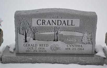 CRANDALL, GERALD REED - Branch County, Michigan | GERALD REED CRANDALL - Michigan Gravestone Photos