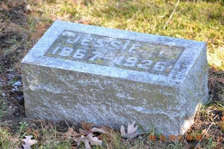 CRANDALL, JESSIE W - Branch County, Michigan | JESSIE W CRANDALL - Michigan Gravestone Photos