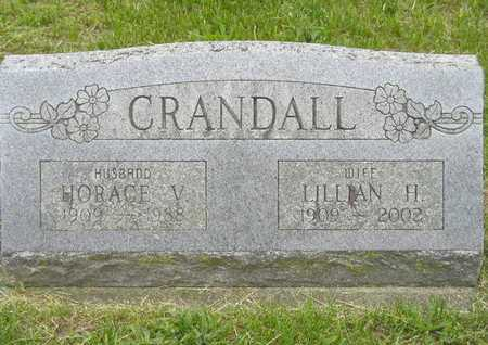 CRANDALL, HORACE V. - Branch County, Michigan | HORACE V. CRANDALL - Michigan Gravestone Photos