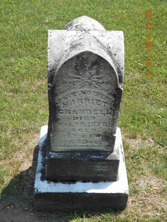 CRANDELL, HARRIET - Branch County, Michigan   HARRIET CRANDELL - Michigan Gravestone Photos