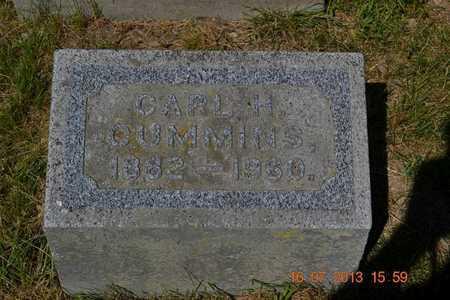 CUMMINS, CARL - Branch County, Michigan   CARL CUMMINS - Michigan Gravestone Photos