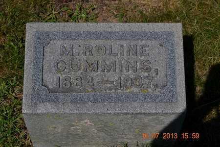 CUMMINS, M. ROLENE - Branch County, Michigan   M. ROLENE CUMMINS - Michigan Gravestone Photos