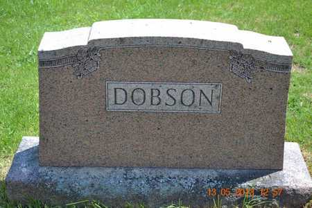 COBLE DOBSON, VINA B. - Branch County, Michigan | VINA B. COBLE DOBSON - Michigan Gravestone Photos