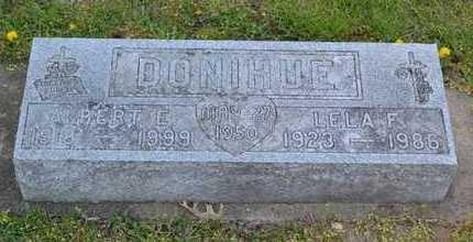 DONIHUE, ALBERT E. - Branch County, Michigan | ALBERT E. DONIHUE - Michigan Gravestone Photos