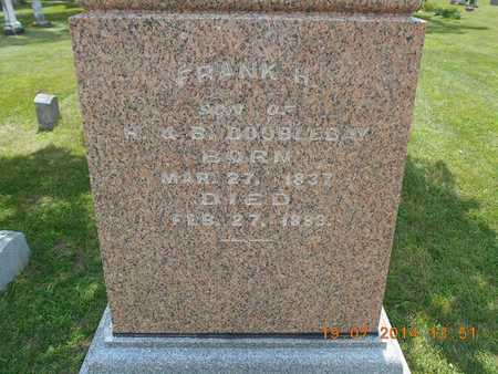 DOUBLEDAY, FRANK H. - Branch County, Michigan | FRANK H. DOUBLEDAY - Michigan Gravestone Photos