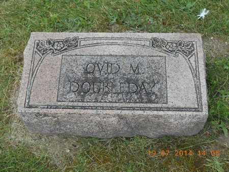 DOUBLEDAY, OVID M. - Branch County, Michigan | OVID M. DOUBLEDAY - Michigan Gravestone Photos