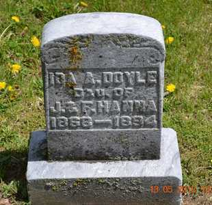 DOYLE, IDA A. - Branch County, Michigan   IDA A. DOYLE - Michigan Gravestone Photos