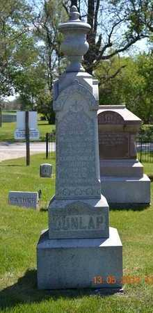 DUNLAP, ELVIRA - Branch County, Michigan | ELVIRA DUNLAP - Michigan Gravestone Photos