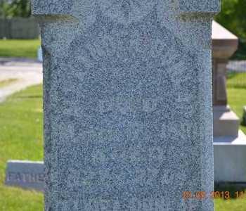 DUNLAP, ALEXANDER(CLOSEUP) - Branch County, Michigan | ALEXANDER(CLOSEUP) DUNLAP - Michigan Gravestone Photos