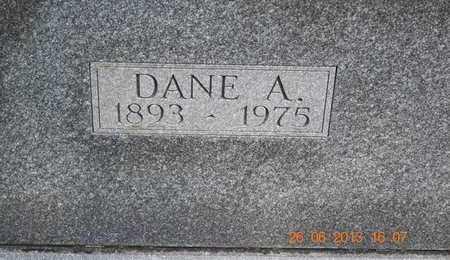 EARL, DANE A. - Branch County, Michigan   DANE A. EARL - Michigan Gravestone Photos