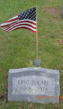 EARL, ERIC D. - Branch County, Michigan | ERIC D. EARL - Michigan Gravestone Photos