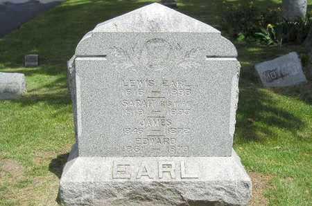 EARL, JAMES - Branch County, Michigan | JAMES EARL - Michigan Gravestone Photos