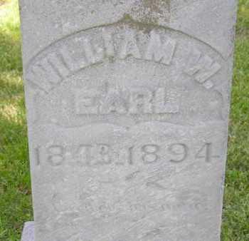 EARL, WILLIAM W. - Branch County, Michigan   WILLIAM W. EARL - Michigan Gravestone Photos