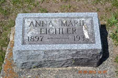 EICHLER, ANNA MARIE - Branch County, Michigan | ANNA MARIE EICHLER - Michigan Gravestone Photos
