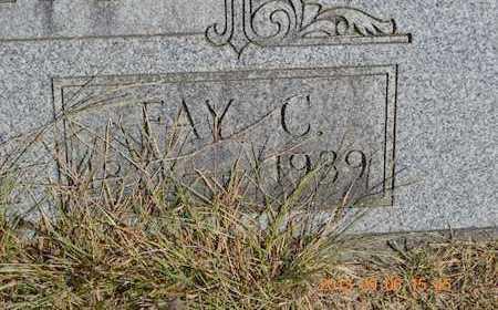 ELLIS, FAY C. - Branch County, Michigan   FAY C. ELLIS - Michigan Gravestone Photos