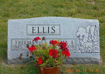 ELLIS, FREEMAN - Branch County, Michigan   FREEMAN ELLIS - Michigan Gravestone Photos