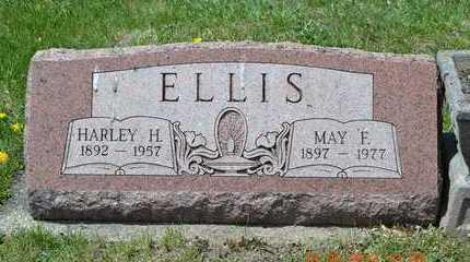 ELLIS, MAY F. - Branch County, Michigan | MAY F. ELLIS - Michigan Gravestone Photos