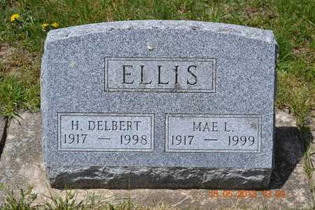 ELLIS, MAE L. - Branch County, Michigan | MAE L. ELLIS - Michigan Gravestone Photos