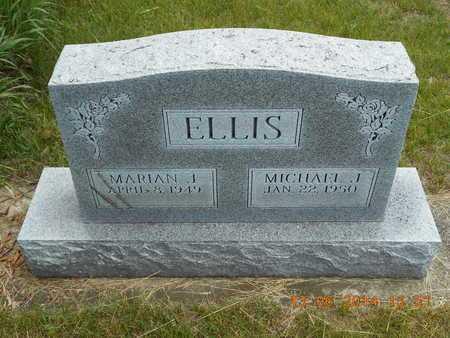 ELLIS, MARIAN J. - Branch County, Michigan | MARIAN J. ELLIS - Michigan Gravestone Photos