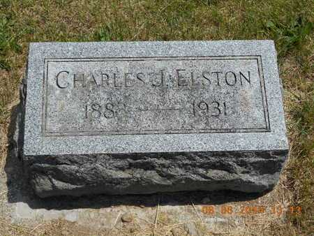 ELSTON, CHARLES J. - Branch County, Michigan | CHARLES J. ELSTON - Michigan Gravestone Photos
