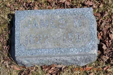 ELTON, JAMES M. - Branch County, Michigan | JAMES M. ELTON - Michigan Gravestone Photos