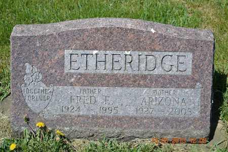 ETHERIDGE, ARIZONA - Branch County, Michigan | ARIZONA ETHERIDGE - Michigan Gravestone Photos