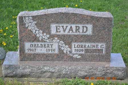 EVARD, LORRAINE G. - Branch County, Michigan   LORRAINE G. EVARD - Michigan Gravestone Photos