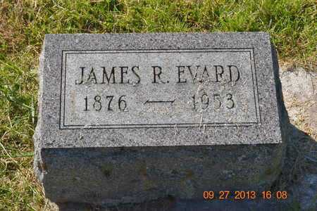 EVARD, JAMES R. - Branch County, Michigan | JAMES R. EVARD - Michigan Gravestone Photos