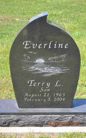 EVERLINE, TERRY L. - Branch County, Michigan | TERRY L. EVERLINE - Michigan Gravestone Photos