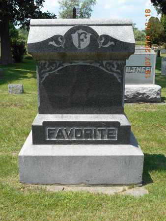 FAVORITE, FAMILY - Branch County, Michigan | FAMILY FAVORITE - Michigan Gravestone Photos