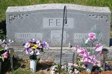 FEE, OTIS J. - Branch County, Michigan | OTIS J. FEE - Michigan Gravestone Photos